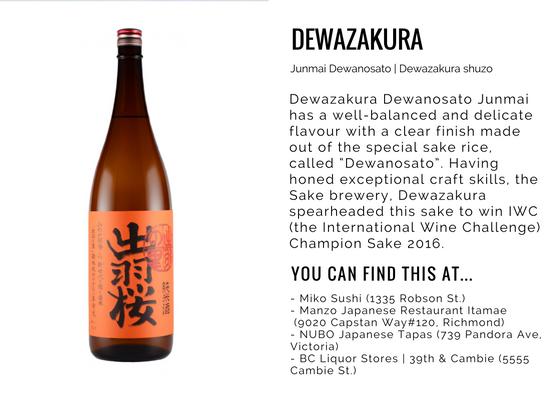 Dewazakura Dewanosato Junmai